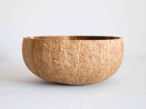 Bowl coco mediano rugoso claro
