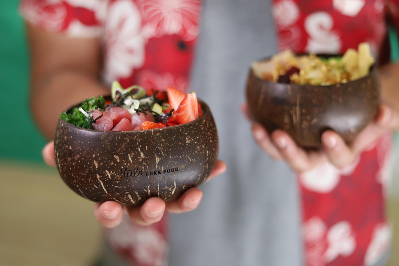 Bowls coco personalizados Hula Poke