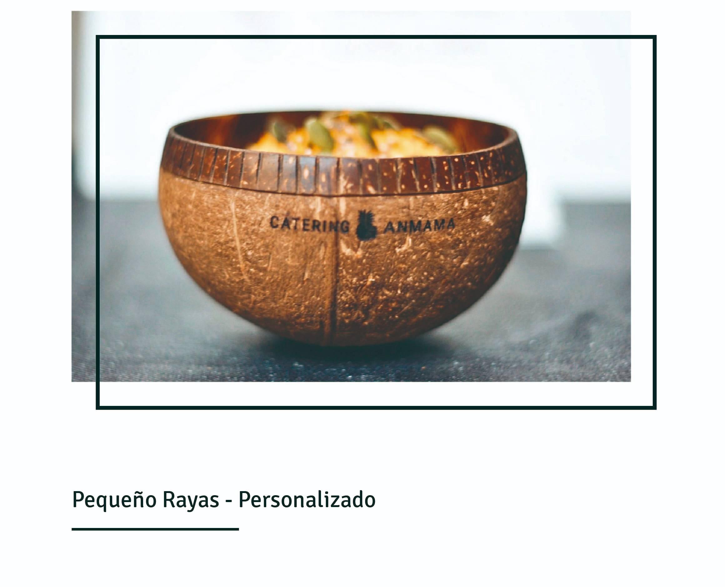 Bowls coco personalizados empresas