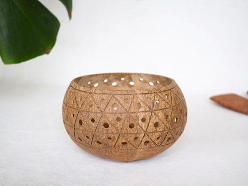 Portavelas de coco Cayco_Kokonat Bowls