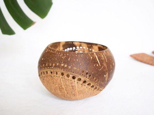 Portavelas de coco Nouc_Kokonat Bowls