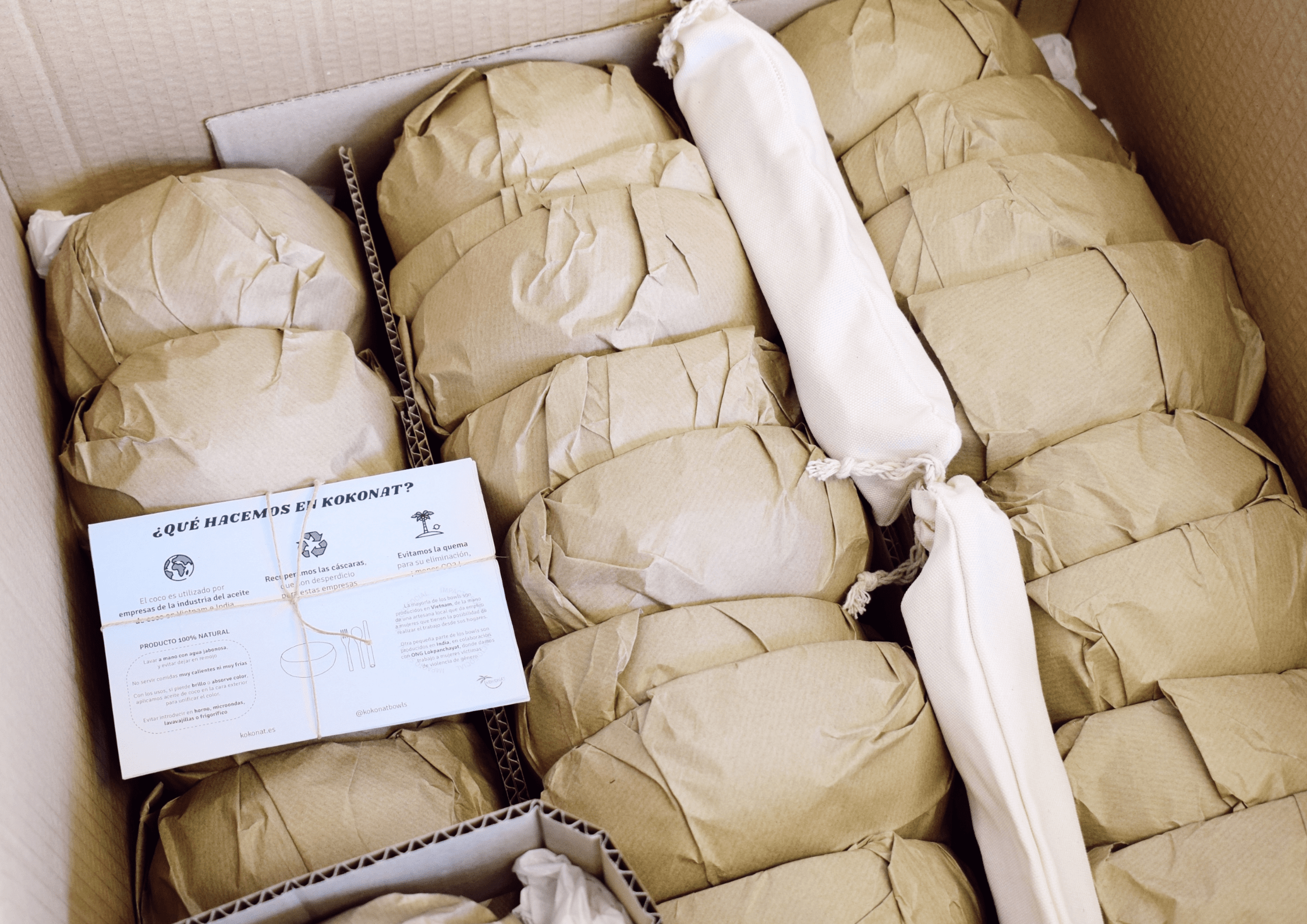 Packaging 100% sostenible